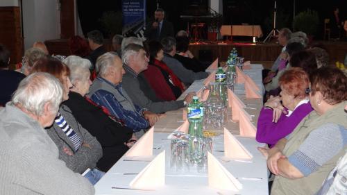 Setkání důchodců se starostou obce 15.11.2017
